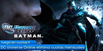 DC Universe Online elimina las cuotas mensuales obligatorias