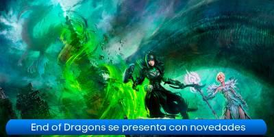 Guild Wars 2 End of Dragons se presenta con sus primeras novedades