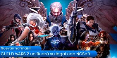 Guild Wars 2 unificará su documentación legal con NCSoft