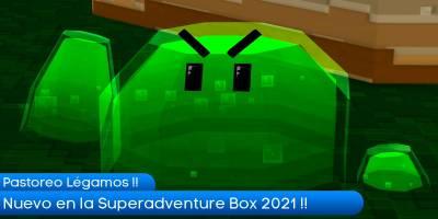 Super Adventure Box 2021. Pastoreo de Légamos