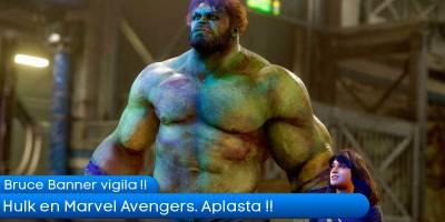 Hulk en Marvel Avengers