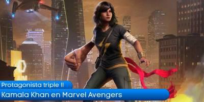 Kamala Khan en Marvel Avengers